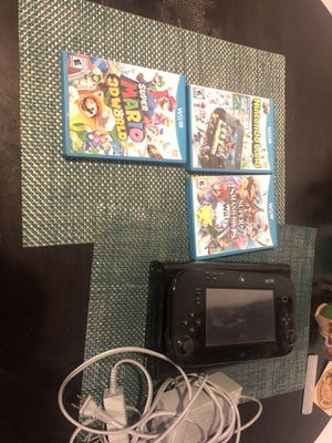 Nintendo Wii U with games and hookups! for Sale in San Angelo, TX