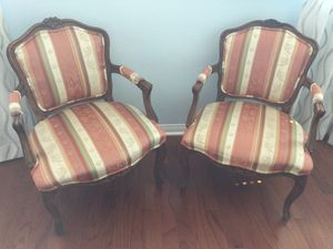 Pair Antique Chairs - Immaculate Condition for Sale in Las Vegas, NV