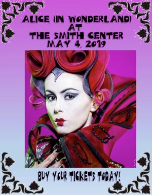 Tickets! Orchestra seats to Alice in Wonderland at The Smiths Center for Sale in Las Vegas, NV