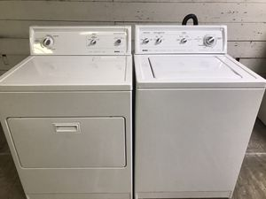 Kenmore super capacity plus washer & dryer for Sale in San Antonio, TX