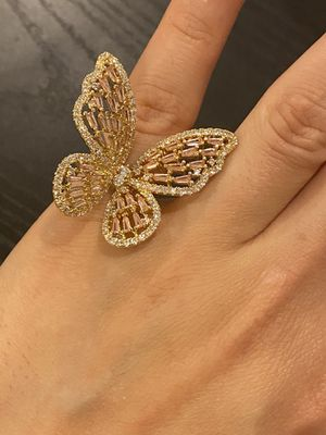 Gold Butterfly 🦋 Ring- Code D012 for Sale in Dallas, TX