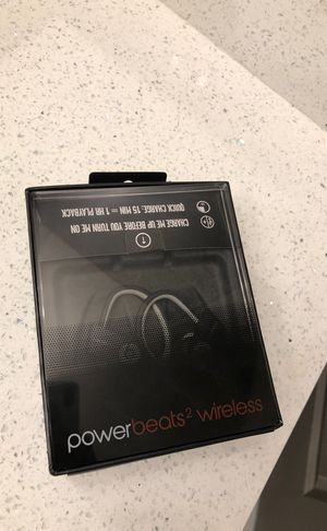 Power beats 2 wireless for Sale in Plano, TX