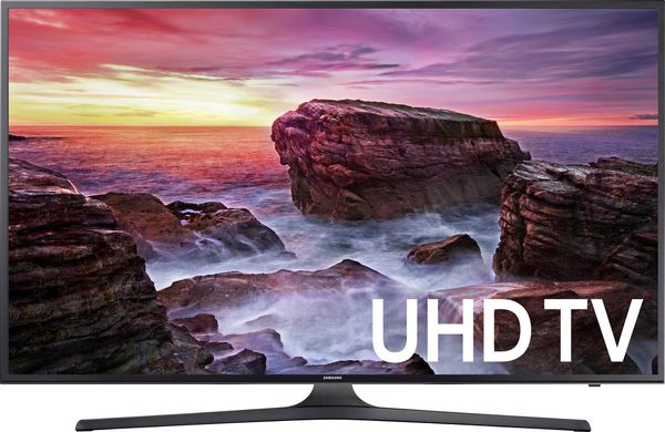 """Samsung - 55"""" Class - LED - UHD - Smart - 4K Ultra HD TV with HDR"""