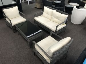 New Outdoor Patio Set. Cream. Free Delivery! for Sale in Los Angeles, CA