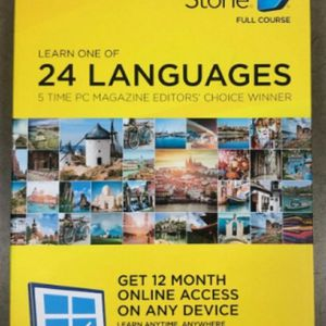 Rosetta Stone 24 Languages 1 Year Subscription for Sale in Bellevue, WA