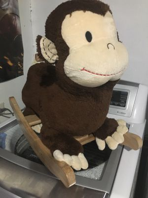 MONKEY ROCKER ROCKING HORSE KIDS TODDLER TOY for Sale in San Antonio, TX