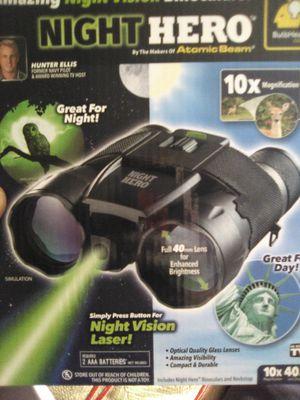 Night Vision Binoculars by Night Hero, Brand New for Sale in Shoreline, WA