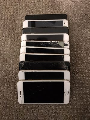 $140 for all 12 iPhones (locked & FOR PARTS ONLY) for Sale in Las Vegas, NV