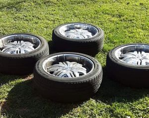 Chrome 22 inch rims Chevy 6 for Sale in Manchester, PA
