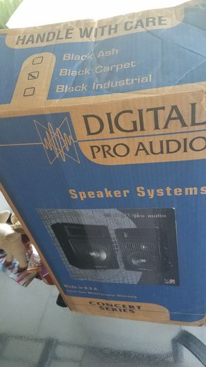 2 NEW-Digital PRO audio Speaker Systems: Concert Series for Sale in Livingston, CA