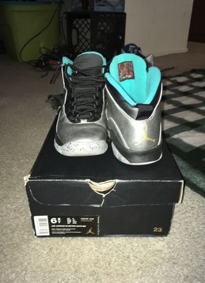 Air Jordan 10 Retro 30th anniversary size 6.5y for Sale in Austin, TX