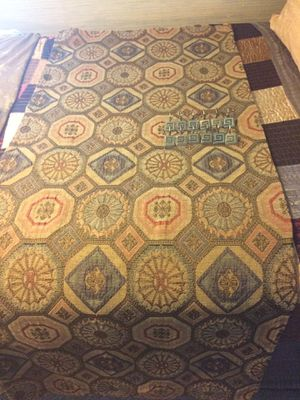 Moroccan Fabric Shower Curtain and Shower Rings for Sale in Hampton, VA