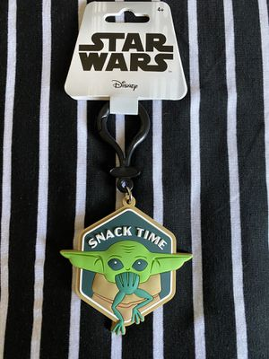 Disney Star Wars The Mandalorian Baby Yoda Keychain for Sale in Whittier, CA