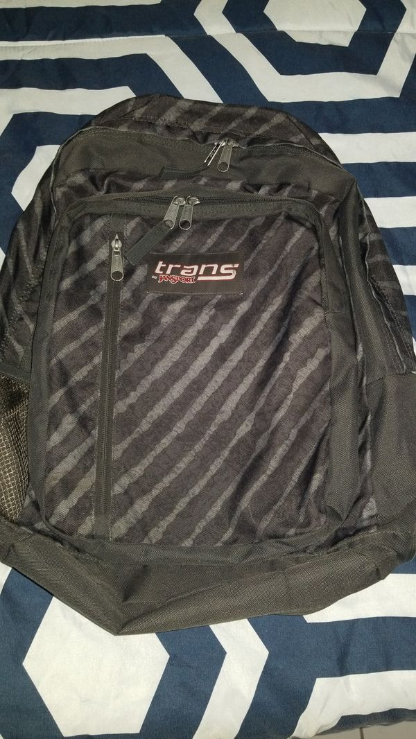 Trans by Jansport Grey Camo Backpack