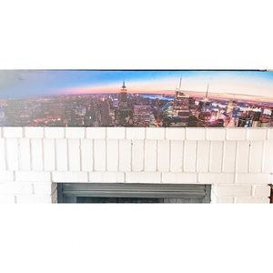 NYC Sunset Panoramic Canvas Print for Sale in Antioch, CA
