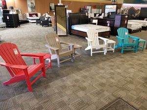Adirondack Chairs in assorted colors for Sale in Phoenix, AZ