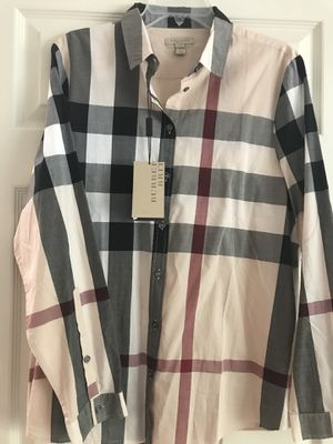 Burberry classic blouse for women for Sale in El Paso, TX