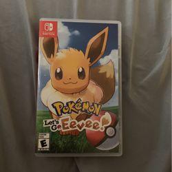 Pokémon let's go Eevee Nintendo switch for Sale in Orlando,  FL