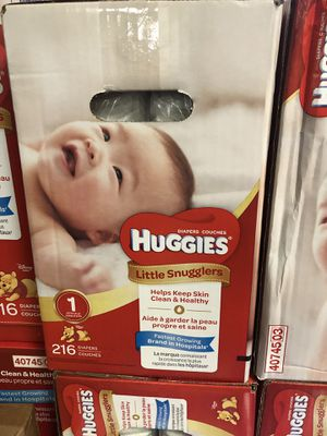 Huggies diapers for Sale in Philadelphia, PA