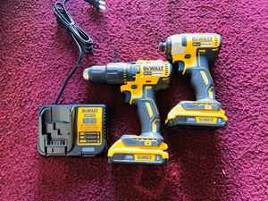 Dewalt 20v max Brushless Hammer Drill and Impact NEW for Sale in Ruskin, FL