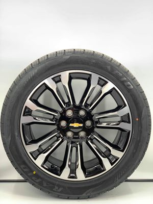 """22"""" Chevy Replica Wheels with Tires fits Tahoe yukon Escalade and more for Sale in Warren, MI"""