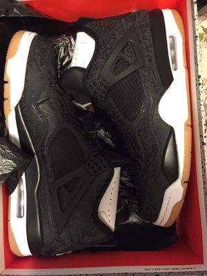 NEW JORDAN 4 IV LASER SIZE 10 TO 12 for Sale in Kent, WA