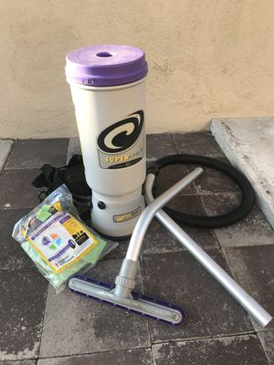 ProTeam Backpack Vacuums, Super QuarterVac Commercial Backpack Vacuum Cleaner with HEPA Media Filtration for Sale in Orange, CA