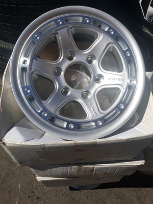 4 new wheels & tires trailer 6 lugs$600 for Sale in Escondido, CA
