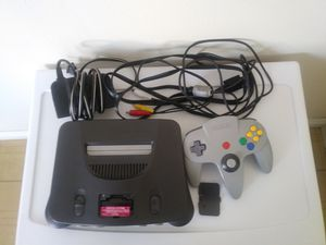 Nintendo 64 with grey controller for Sale in City of Industry, CA