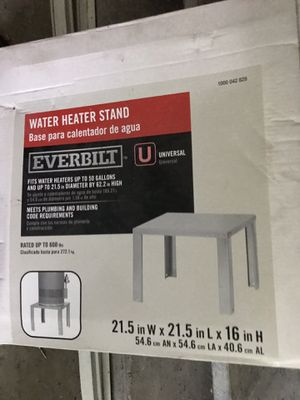 Water heater stand for Sale in Nashville, TN