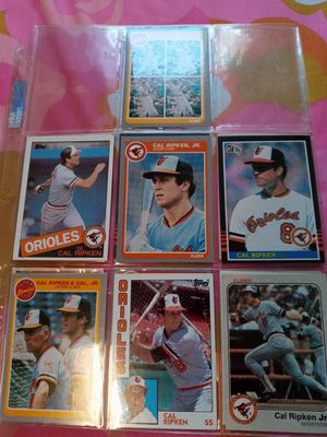 Call Ripken 1980s, 7 Baseball cards for Sale in Fullerton, CA