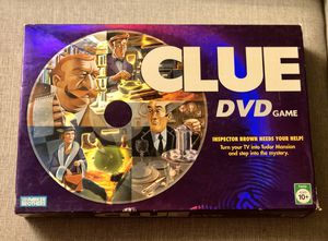 Clue DVD Family Mystery Board Game for Sale in Scottsdale, AZ