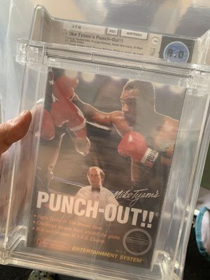 Mike Tyson's Punch-Out Graded 8.0 by wata games for Sale in Queen Creek, AZ