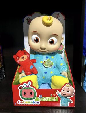"""New Cocomelon JJ 10"""" Musical Bedtime Plush Doll for Sale in Fremont, CA"""