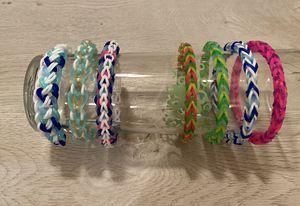 Custome made, Rainbow Loom Bands School colors? Favorite Team? for Sale in Pleasantville, NJ
