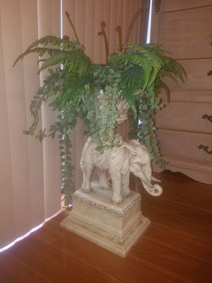 Elephant with plants for Sale in Tamarac, FL