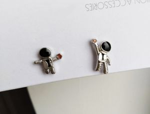 Silver spaceman stud earrings for Sale in Rowland Heights, CA
