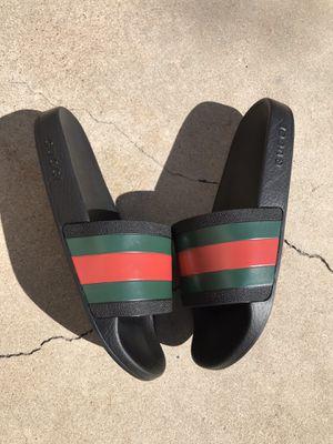Gucci Pursuit '72 Rubber Slides Flip Flops Size 8G 9 US for Sale in Phoenix, AZ