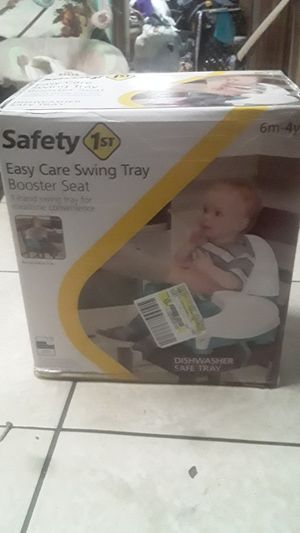 Easy care swing tray booster seat for Sale in Bonita Springs, FL