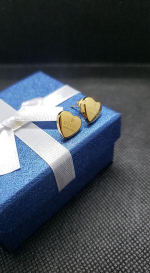 Earrings 18k plated for Sale in Houston, TX