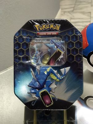 Hidden Fates Gyarados GX Tin Pokemon Cards for Sale in Orlando, FL