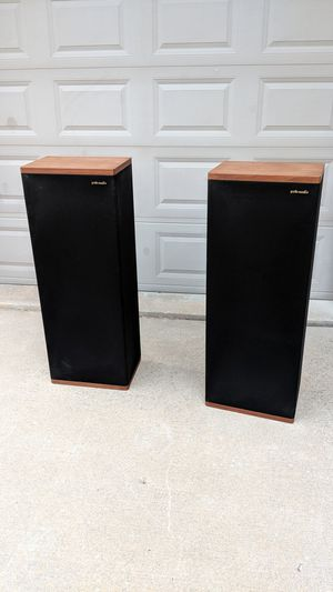Polk Audio Vintage Stereo Speakers for Sale in Channahon, IL