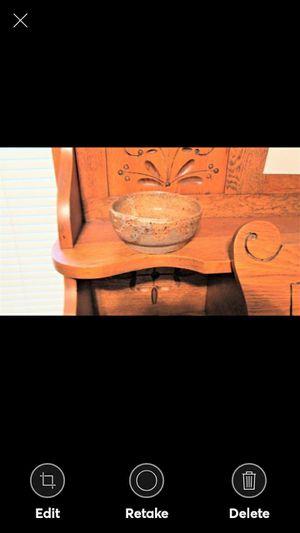 USA MADE GLAZED POTTERY BOWL for Sale in Lynchburg, VA