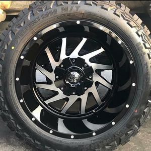 20x14 Wheels and tires set 35125020 for Sale in Phoenix, AZ