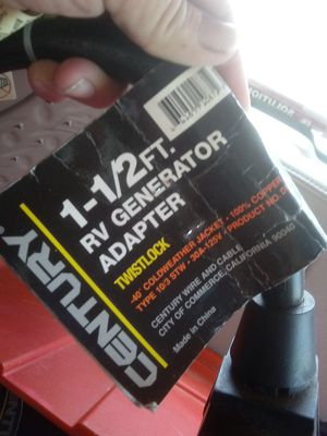 RV Generator Adapter - lot of 40 for Sale in Vancleave, MS