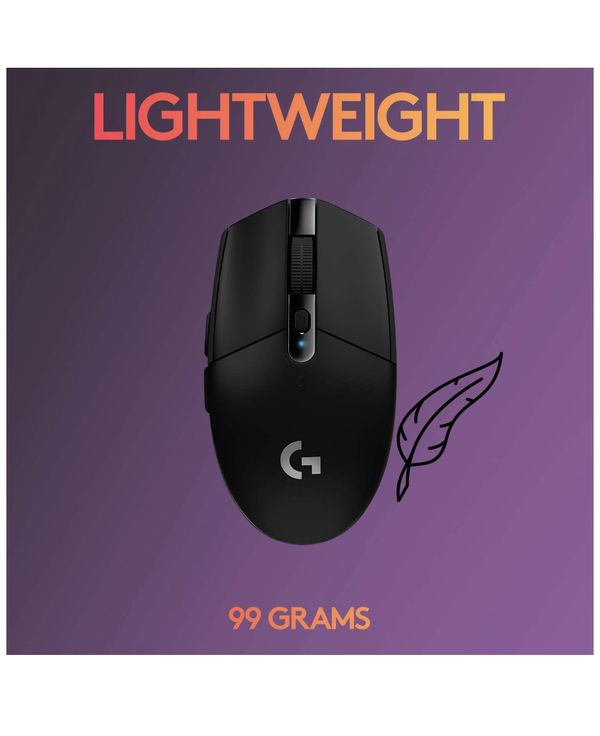 Logitech G305 Wireless Mouse And G240 Mouse Pad