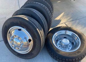 """19.5"""" Ford F550 2019 Wheels Rims Rines and Tires Llantas for Sale in Anaheim, CA"""