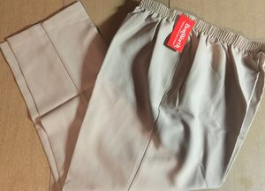 Vintage 1980s/90s BON WORTH Women's Polyester Elastic Waist Khaki Casual to Dress Pants. New With Tags- XL/P for Sale in Paris, KY
