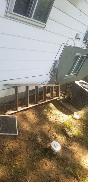 Wooden ladder for Sale in Columbus, OH