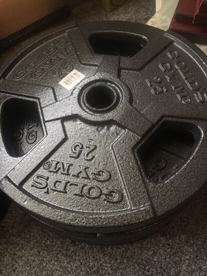 25 lb weight plates for Sale in Lutz, FL